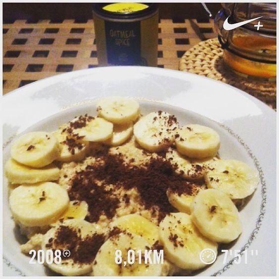 Gemütliche Wochenendrunde mit vorheriger #oatmeal - Stärkung😉✌️ casselfornia #fitfam #fitfood #foodporn #earlybird #tasty #nikerunning #nikeplus #freeletics #runtastic #kasselcity #photooftheday #picoftheday #potd #motivation #cardio #getfit #jogging #joggeb #run #workout #breakfast  Yummery - best recipes. Follow Us! #foodporn