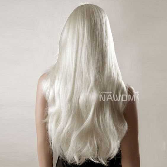 how to get platinum white hair