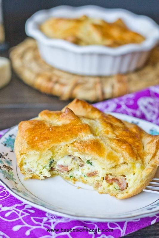 Spinach and Cheese Egg Souffle. Four cheeses, bacon and spinach. Great ...