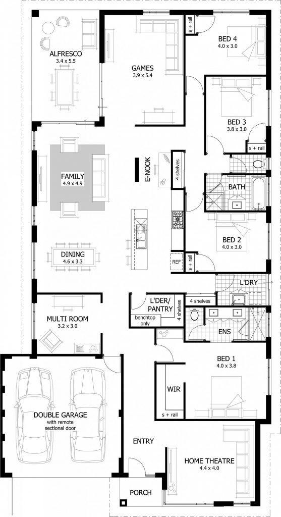 Home Design All About Home Design House Plans Australia Bungalow House Plans 4 Bedroom House Plans