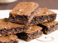 Use our new Dark Honeycomb Block to make these delicious brownies.