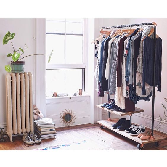 Put your favorites on display. #uoaroundyou #closet #rollingrack #clothingrack #urbanoutfitters #Padgram