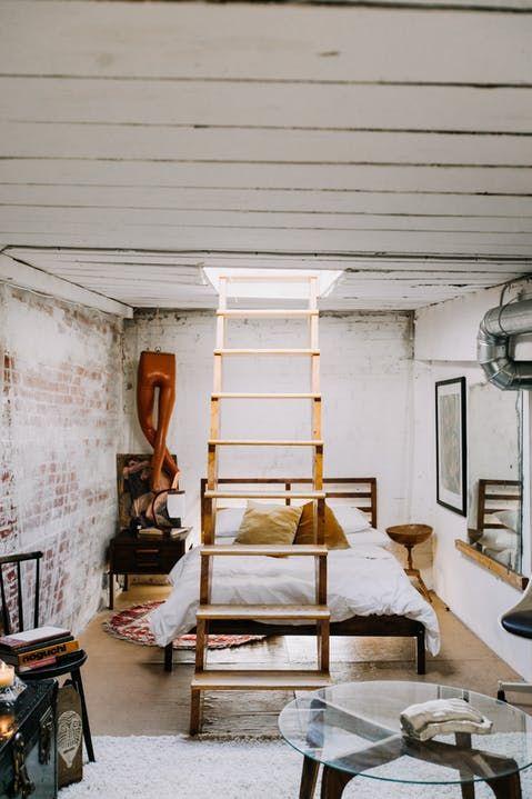 A Sunny Stunning Loft Apartment In An Old Textile Factory Loft Apartment Modern Bedroom Decor Loft Decor