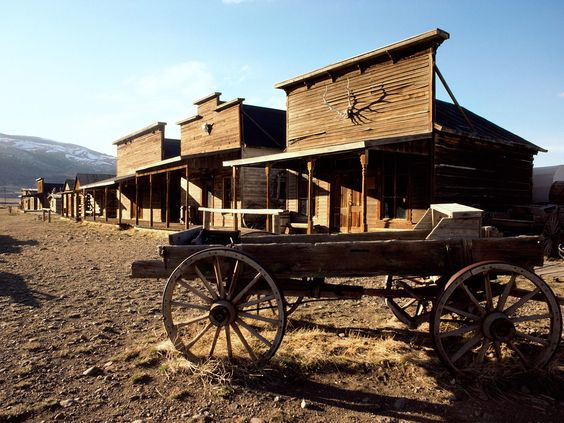 I'd love to go on a tour of some of the old ghost towns of the West.