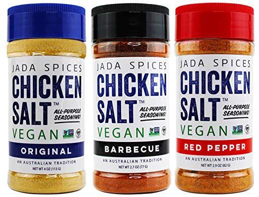Amazon Com Chicken Salt Vegan Non Gmo No Msg Gluten Free Australia S 1 All Purpose Seasoning Red Chicken Spices Stuffed Peppers Vegetable Rice Recipe