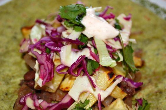 Sweet potato tacos, Potato tacos and Chipotle on Pinterest