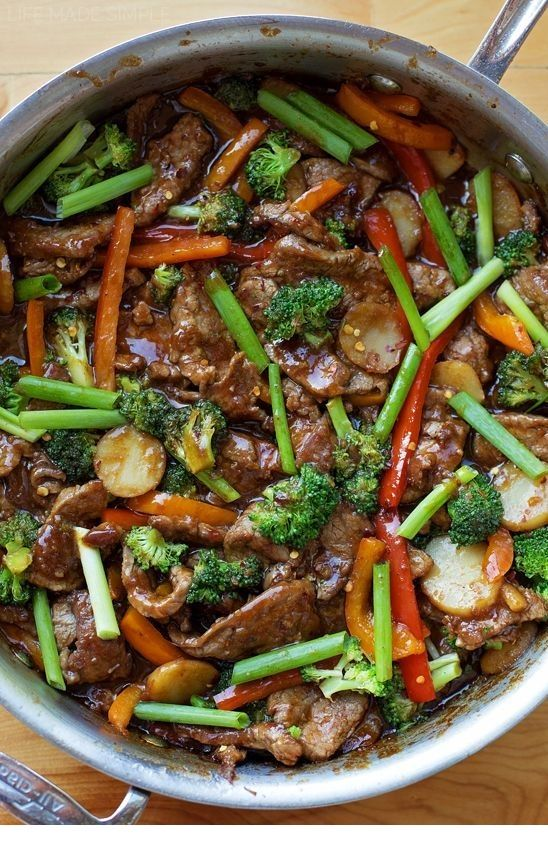 30 Minute Mongolian Beef Stir Fry Recipe Beef Recipes For