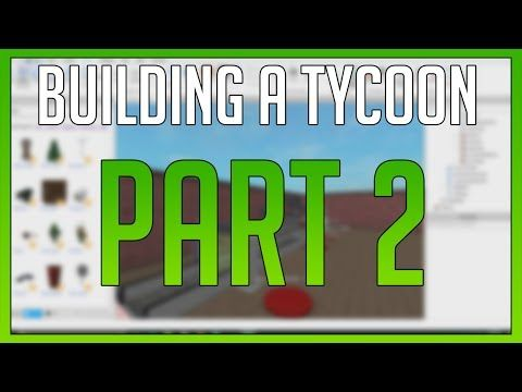 Youtube Creating Roblox Game 4 Roblox Building A Tycoon For Starters Part 2 Youtube Roblox Building Gaming Logos