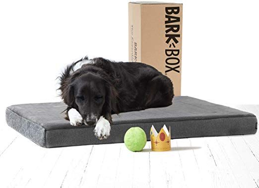 Amazon Com Barkbox Memory Foam Platform Dog Bed Plush Mattress For Orthopedic Joint Relief Machine In 2020 Waterproof Dog Bed Memory Foam Dog Bed Plush Dog Beds