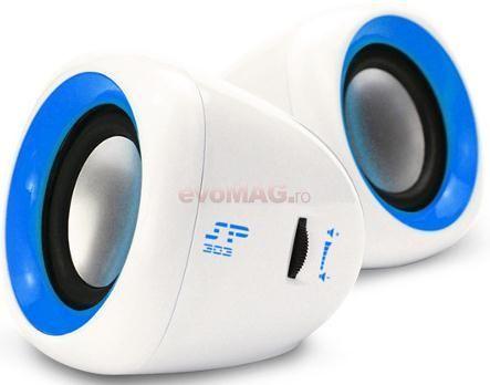 Boxe SP303 (Albastru) la Pret OK - Componente Pc > Boxe Enzatec