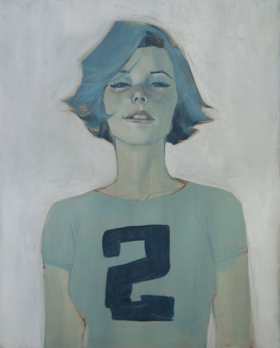 Nos. 1 and 2 - from my current show at Stranger... | Your Nice New Outfit • the art of Phil Noto