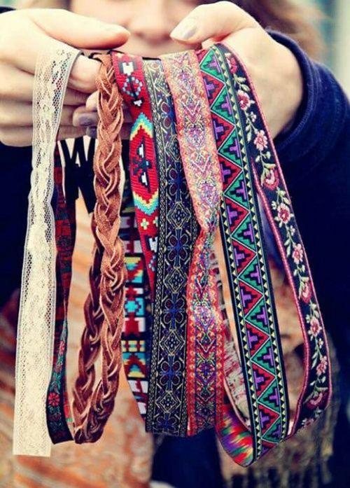 Image de headband, hair, and hippie