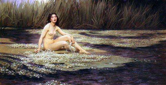 The Athenaeum - The water nymph (Herbert James Draper - )