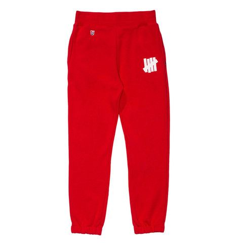 UNDEFEATED 5 STRIKE SWEATPANT RED 516085-REDD | Solestop.com