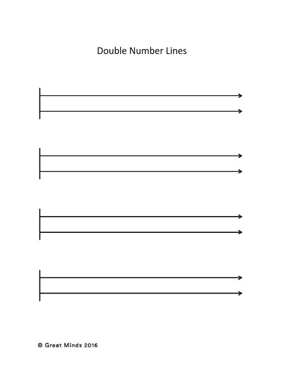 Common Worksheets u00bb Double Number Line Ratio Worksheets ...