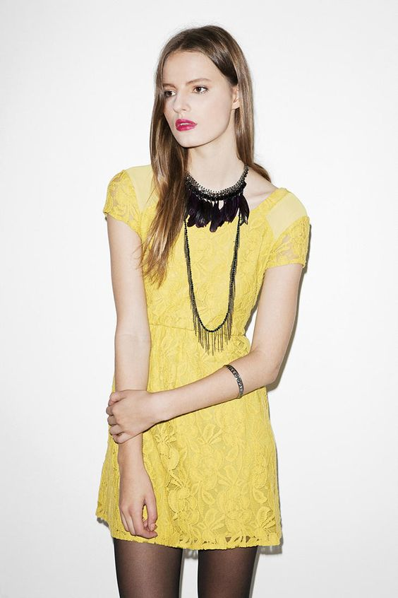 Obsessing over this dress at the moment. It looks more mustard in person