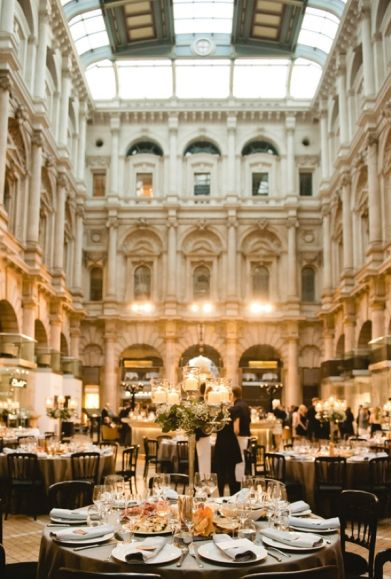 Royal Exchange Wedding ~ London ~ Sure Ill fluff for a bride here.