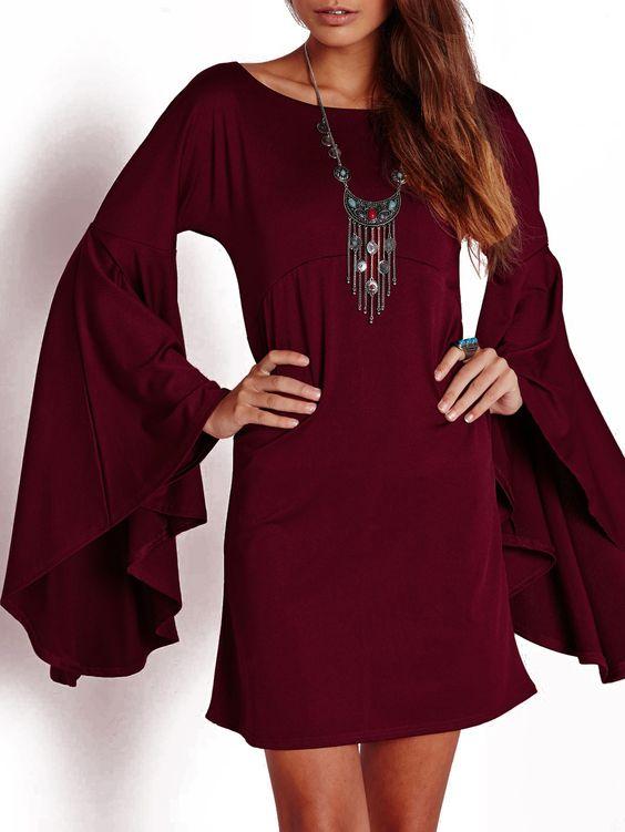robe design -rouge bordeaux  13.58
