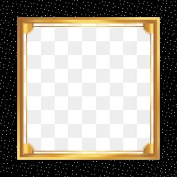Atmospheric Black Gold Frame Lines Business Background Geometric Pattern Background Frame Graphic Design Background Templates