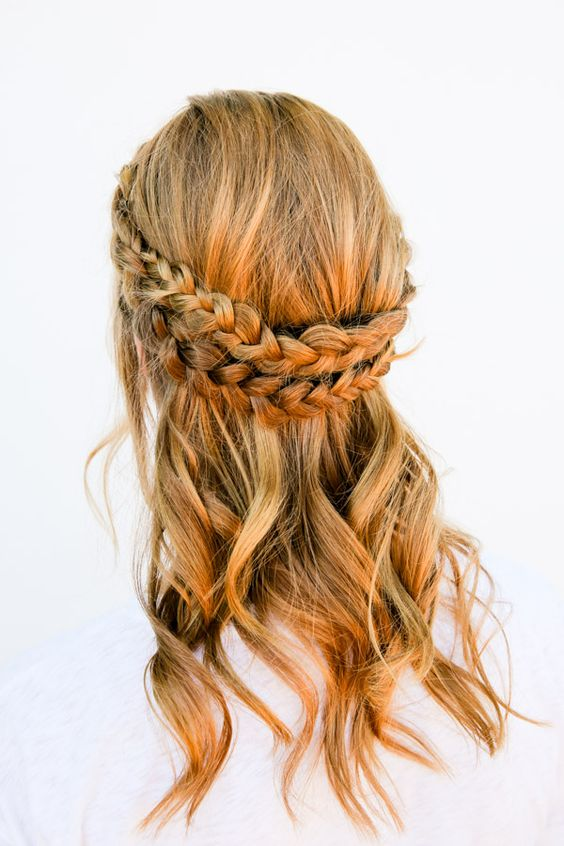 I Can See Your Halo, Halo: A Half Halo Braid Tutorial in 10 Minutes or Less