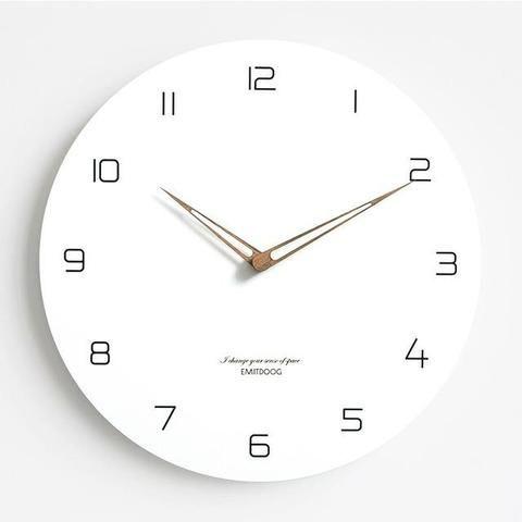 Wall Clock Warmly In 2020 Wanduhren Wanduhren Modern Und Uhren