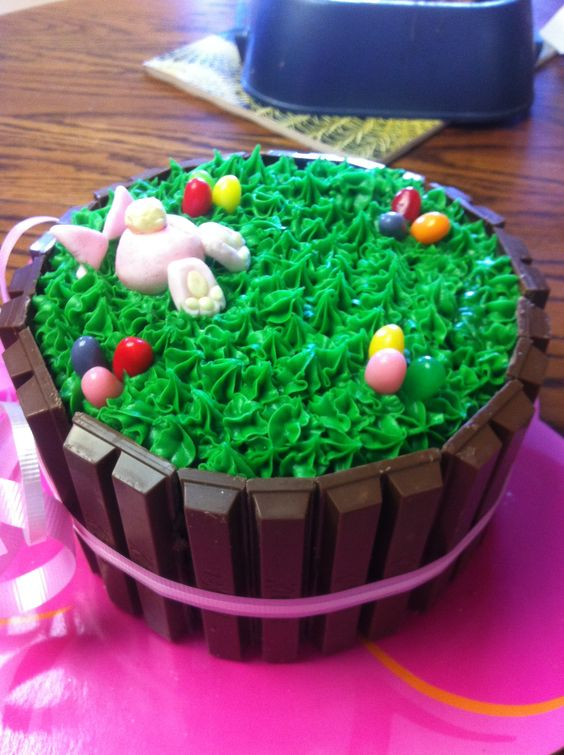 Gâteau de Pâques /  Easter cake