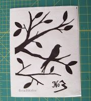 how to print on freezer paper for stenciling