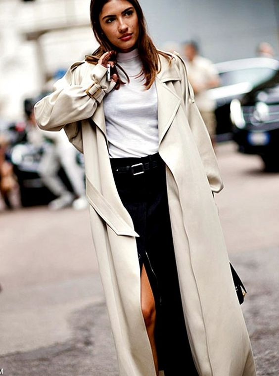 Hungover? 11 Foolproof Outfit Ideas to Wear Today via @WhoWhatWear....long jacket