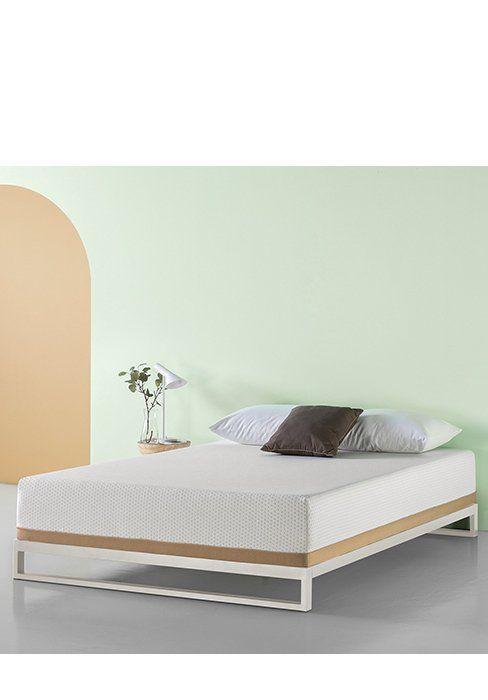 Amazon Com Zinus Memory Foam 12 Inch Green Tea Mattress Twin Kitchen Dining Firm Memory Foam Mattress Twin Size Bed Covers Zinus
