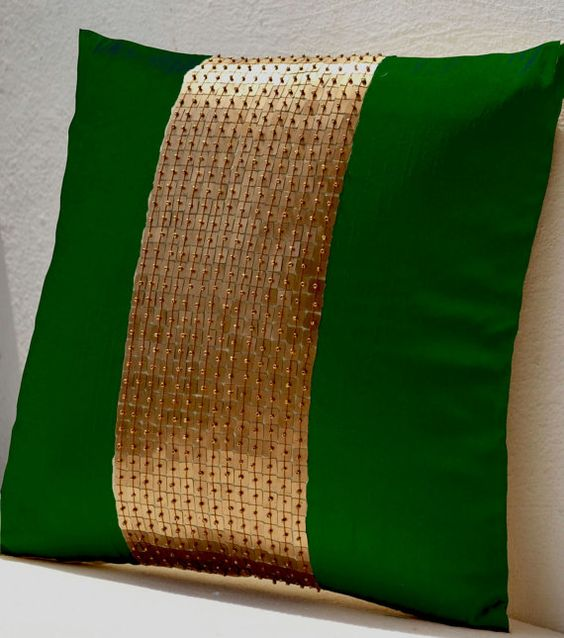 Green Silk Throw Pillow : Pinterest The world s catalog of ideas