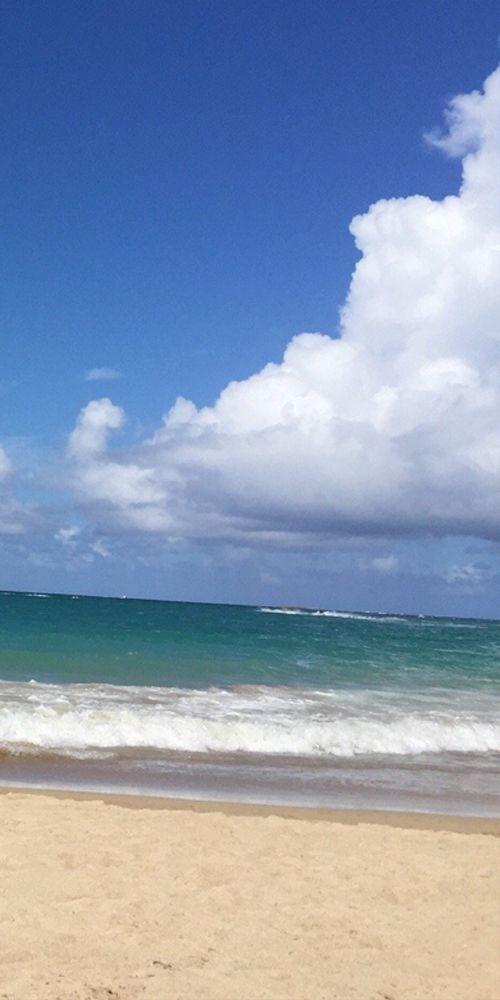 Isla Verde Beach, Carolina, Puerto Rico ️  -------------- #caribbean #beaches #coast #vacation #travel