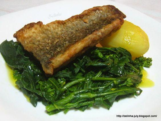Filete de negrão em cama de verdura http://zelinha-july.blogspot.pt/2015/01/filete-de-negrao-em-cama-de-verdura.html