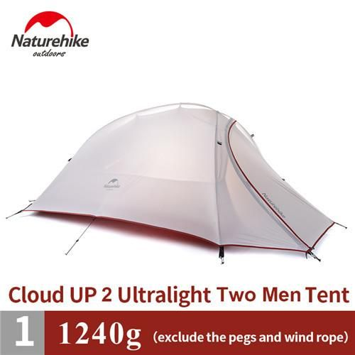 Naturehike CloudUp 2.6 LB Ultralight 1-2 Person 4 Season Backpacking Tent | Products | Pinterest | Tents and Products  sc 1 st  Pinterest & Naturehike CloudUp 2.6 LB Ultralight 1-2 Person 4 Season ...