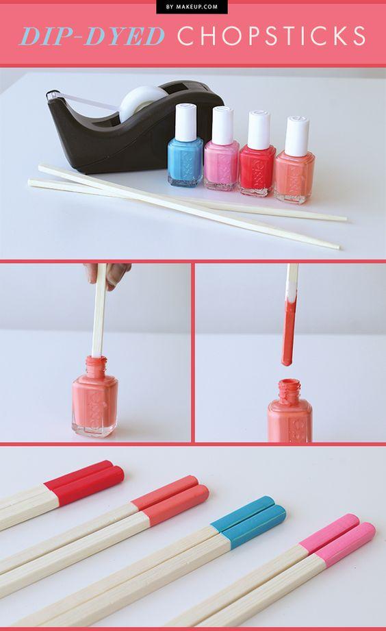 5 utilisations beauté du vernis à ongles
