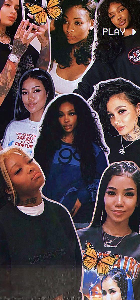Queens Of R B Sza Singer Bad Girl Wallpaper Girl Iphone Wallpaper