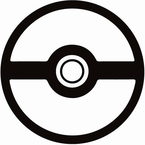 Pokemon Ball Coloring Page Lovely Pokemon Ball Stencil Is All Blank And Awkward Better Type Some 500x500 Jpeg Pokemon Ball Pokemon Decal Pokemon
