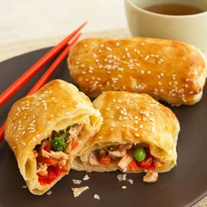 Baked Chinese Egg Rolls