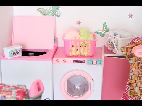 How To Make A Doll Washer And Dryer Youtube Barbie Dolls