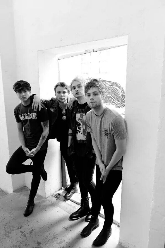Soo, 5SOS are coming here in a few days.... And I could alrwady hear my friend's heart shattering. I didn't get tickets because I don't know most of their songs, but I like their songs on the radio. Guys, comment what your favorite song from them is and I'll give it a listen when I have time! Thanks!: