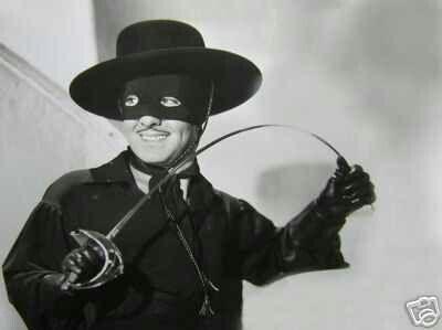 Tyrone Power as Zorro: