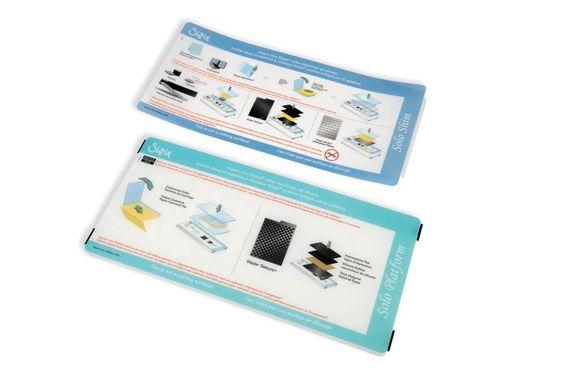 Sizzix Accessori - Solo piattaforma e spessori (azzurri) - 657 155 19,80 + 3,65€