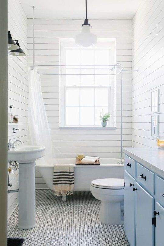 What is shiplap anyway dr who tile and bath for Joanna gaines bathroom renovations