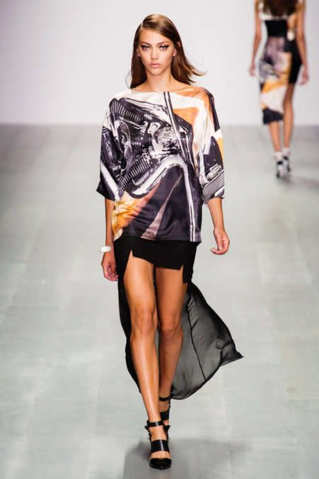 Jean-Pierre Braganza S/S 2015 London Fashion Week