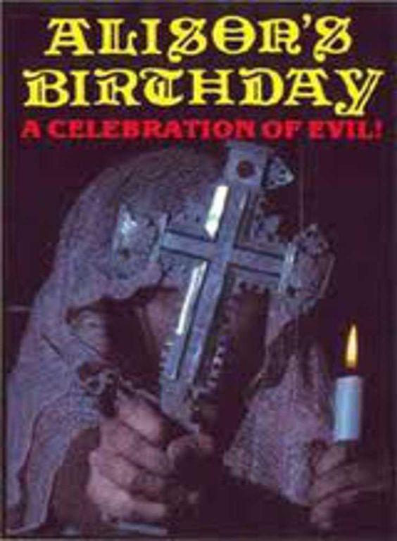 Alison's Birthday 1981