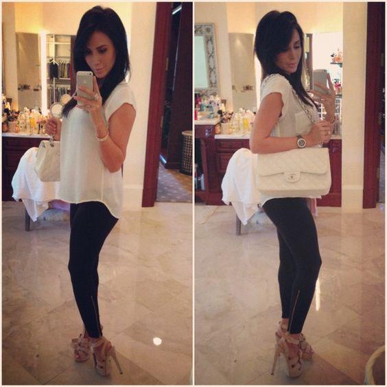 Todayu0026#39;s outfit Jennifer ou0026#39;neill and White silk on Pinterest
