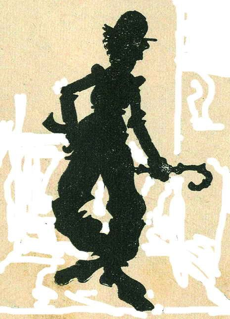 Charlot jean-claude forest - silhouette