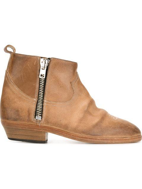 GOLDEN GOOSE 'Viand' Boots. #goldengoose #shoes #boots