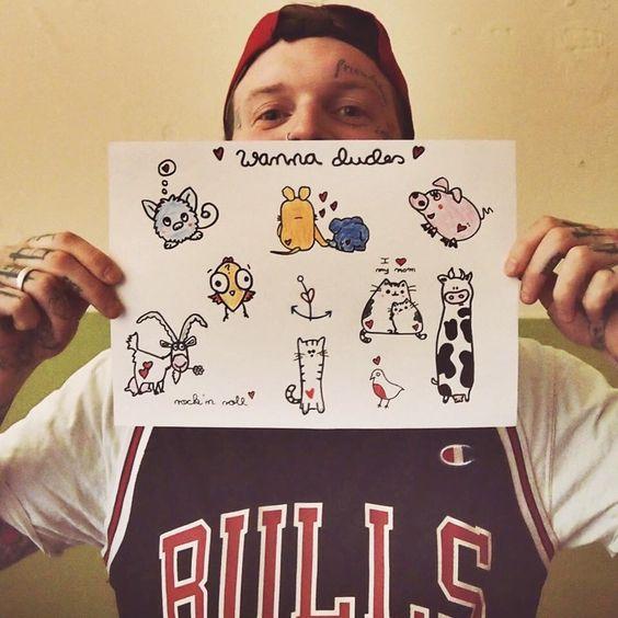 #tobiderdude #tattoo #berlin #dudetattoos #friedrichshain #love #tattrx #chicagobulls