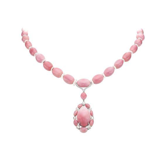 Boghossian conch pearl necklace