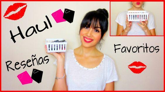 Haul, Reseñas, Favoritos de Maquillaje y Más!